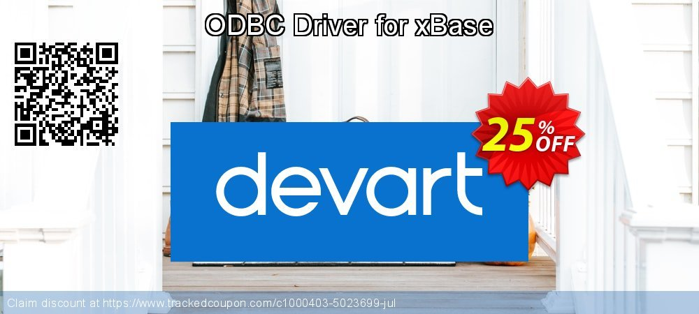 Get 10% OFF ODBC Driver for xBase promo sales