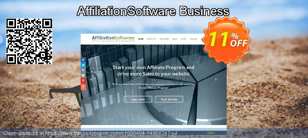 AffiliationSoftware Business coupon on Halloween offer