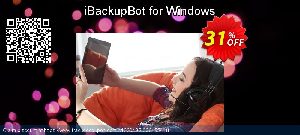 Get 30% OFF iBackupBot for Windows discount