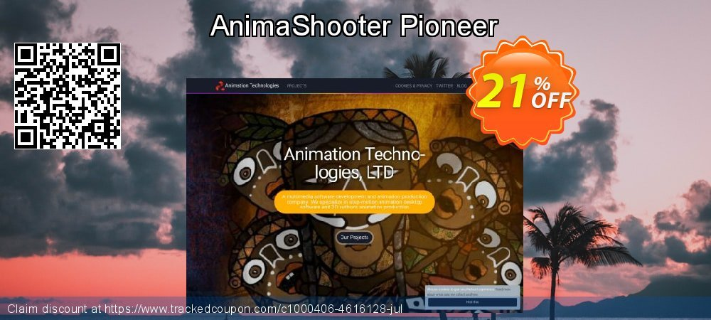 AnimaShooter Pioneer coupon on 4th of July promotions