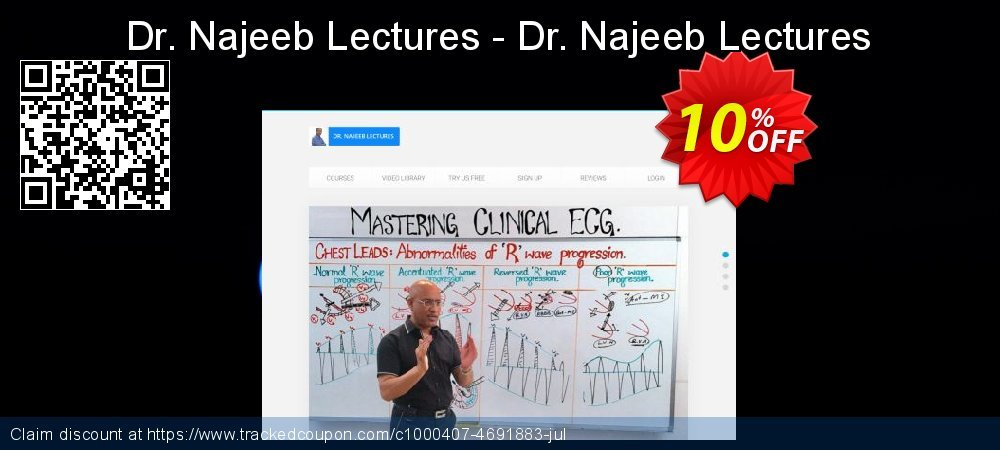 Dr. Najeeb Lectures - Dr. Najeeb Lectures coupon on US Independence Day offer