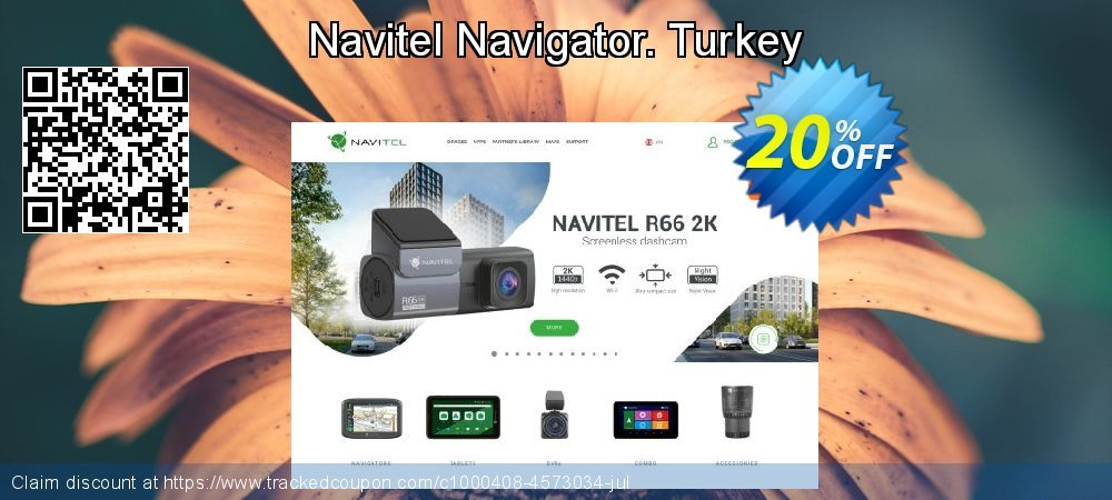 Navitel Navigator. Turkey coupon on Happy New Year offer