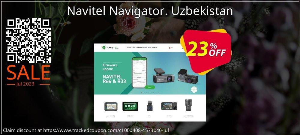 Navitel Navigator. Uzbekistan coupon on New Year promotions