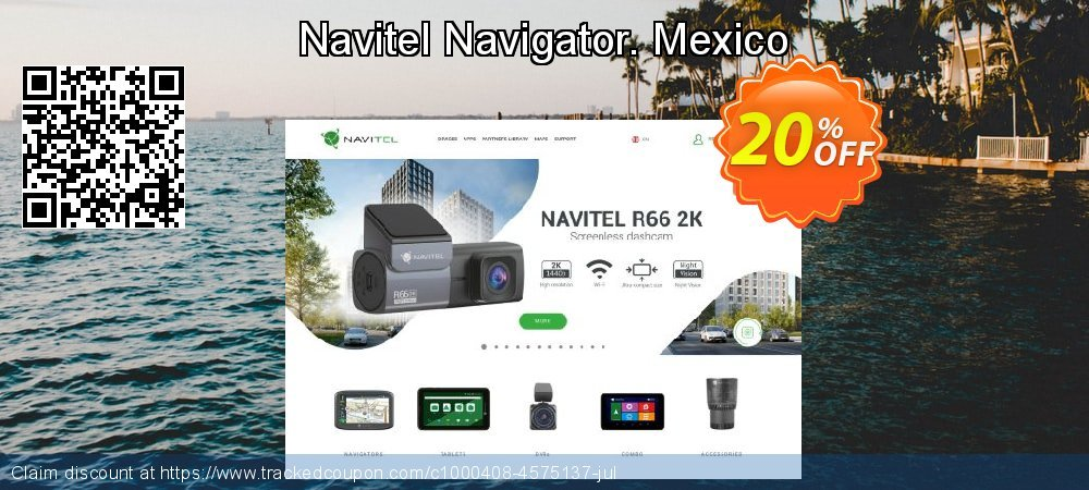 Navitel Navigator. Mexico coupon on New Year's Day promotions