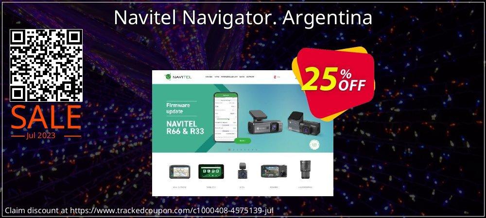 Navitel Navigator. Argentina coupon on Lunar New Year deals