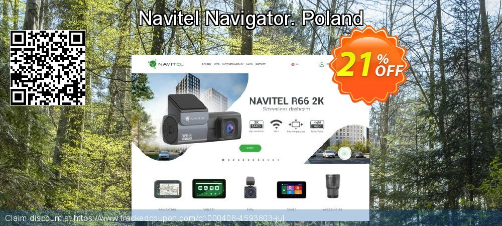 Navitel Navigator. Poland coupon on Lunar New Year promotions