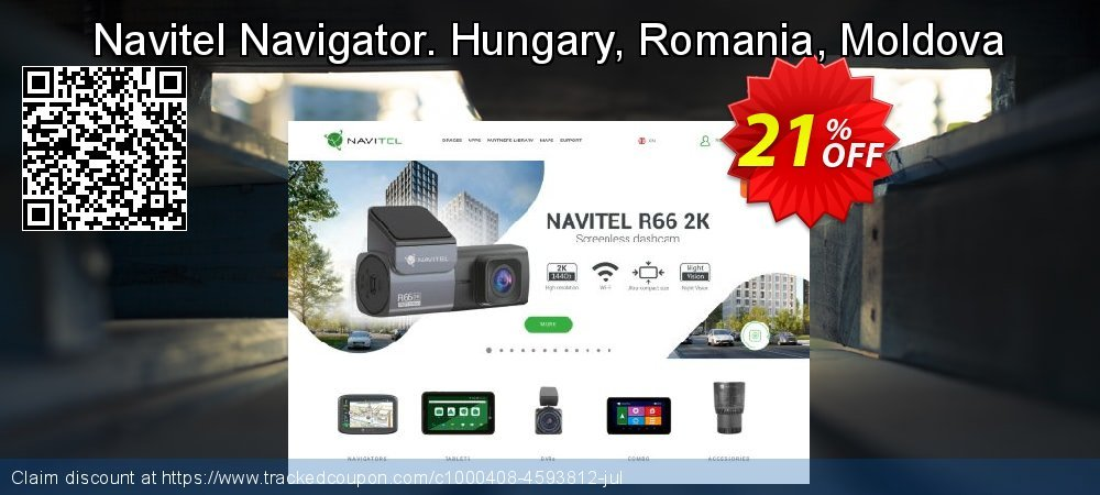 Navitel Navigator. Hungary, Romania, Moldova coupon on New Year promotions