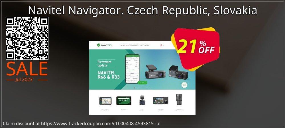 Navitel Navigator. Czech Republic, Slovakia coupon on Lunar New Year offer