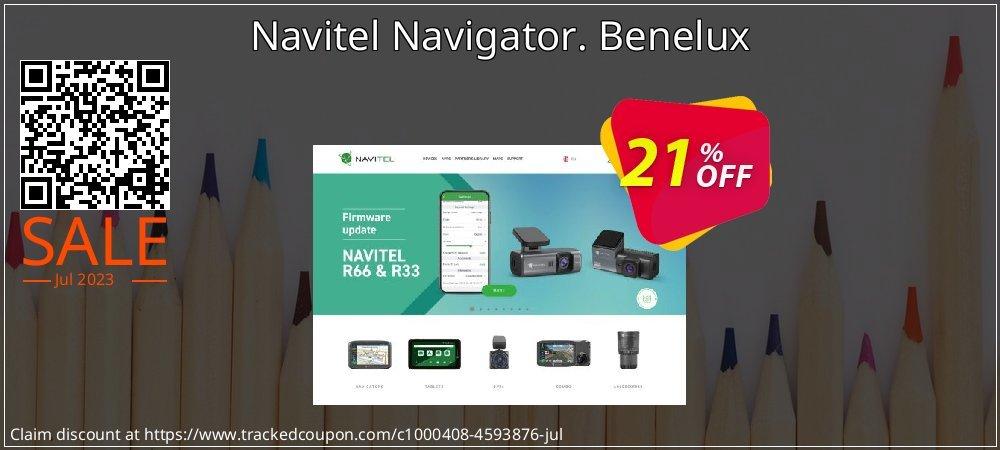 Navitel Navigator. Benelux coupon on New Year sales