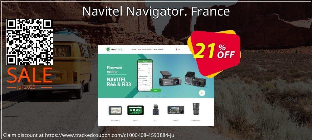 Get 10% OFF Navitel Navigator. France offering sales