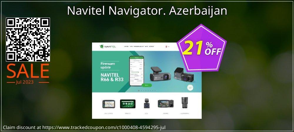 Navitel Navigator. Azerbaijan coupon on Lunar New Year offering sales