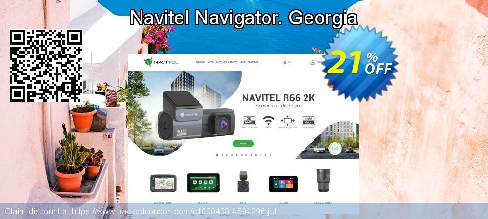 Navitel Navigator. Georgia coupon on New Year super sale