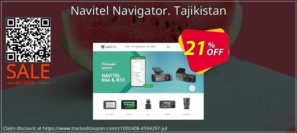 Navitel Navigator. Tajikistan coupon on New Year's Day discounts