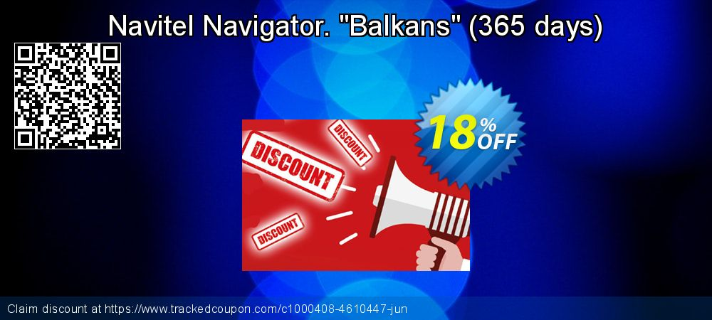 "Get 10% OFF Navitel Navigator. ""Balkans"" (365 days) offering deals"