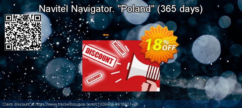 "Get 10% OFF Navitel Navigator. ""Poland"" (365 days) offering sales"