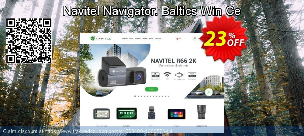 Navitel Navigator. Baltics Win Ce coupon on New Year sales