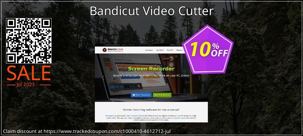 Get 10% OFF Bandicut Video Cutter sales