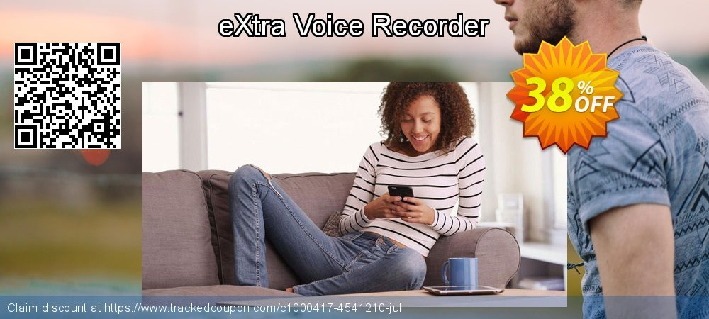 Get 30% OFF eXtra Voice Recorder offering deals