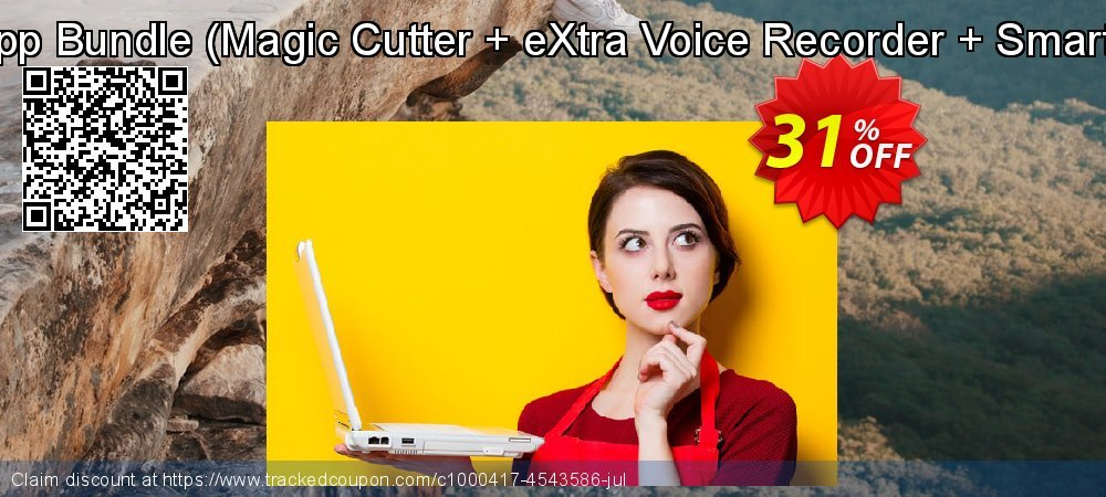 Get 30% OFF Mac App Bundle (Magic Cutter + eXtra Voice Recorder + Smart Gain) discount