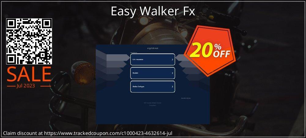 Get 20% OFF Easy Walker Fx offering sales
