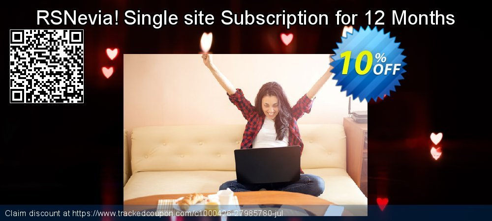 RSNevia! Single site Subscription for 12 Months coupon on Wildlife month discount