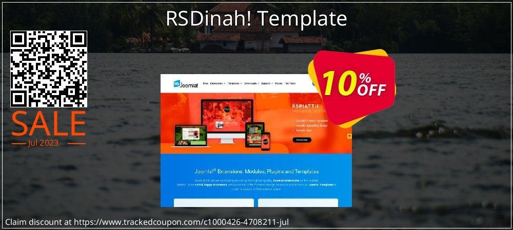 RSDinah! Template coupon on Mid-Autumn Moon discounts