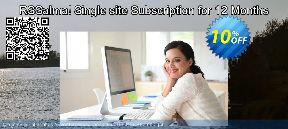 RSSalma! Single site Subscription for 12 Months coupon on Lazy Mom's Day offering discount