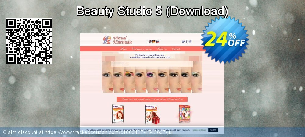 Beauty Studio 5 - Download  coupon on Lunar New Year super sale