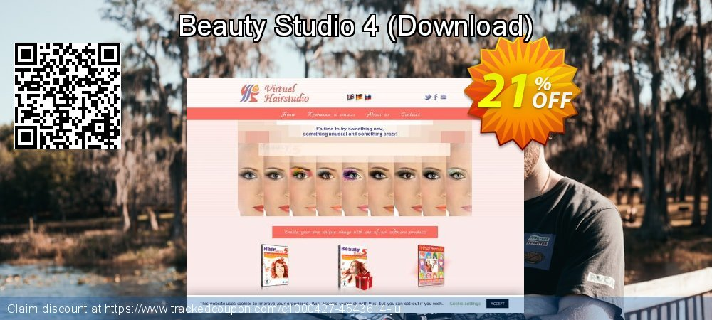 Beauty Studio 4 - Download  coupon on Happy New Year offering discount
