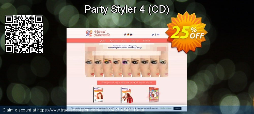 Party Styler 4 - CD  coupon on Happy New Year promotions
