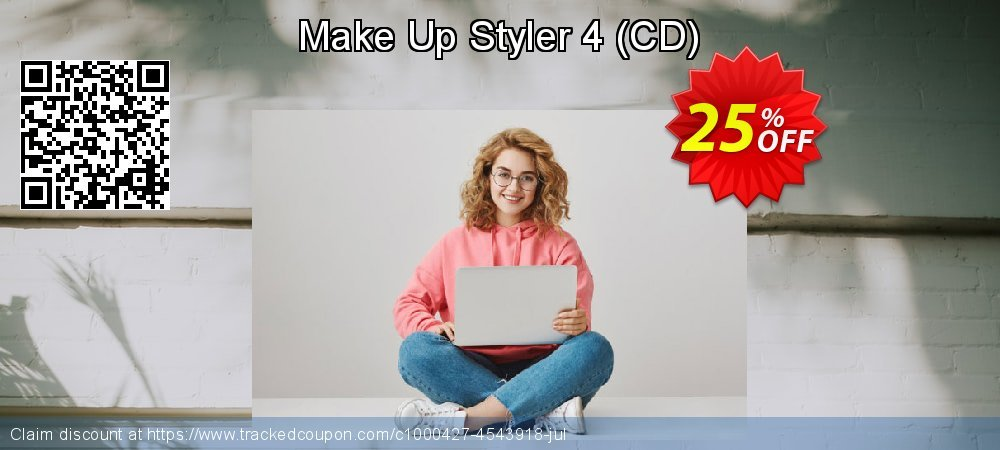Make Up Styler 4 - CD  coupon on Happy New Year offer