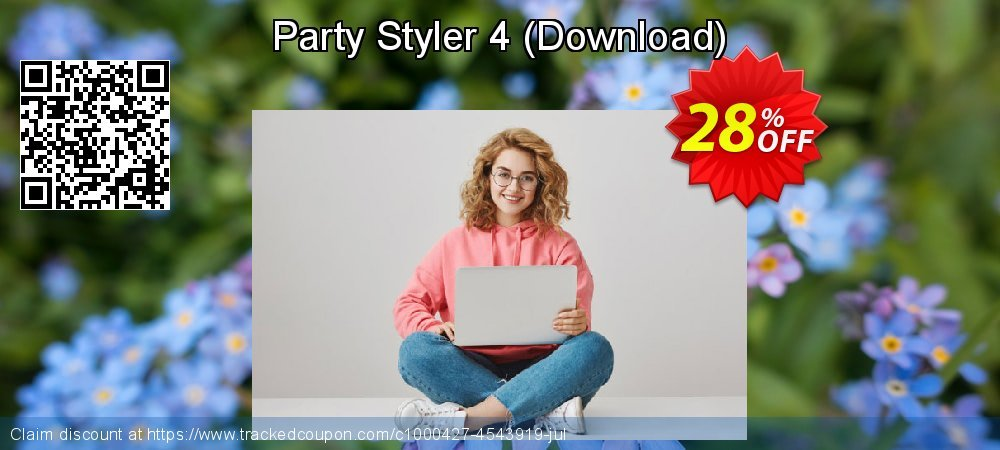Party Styler 4 - Download  coupon on Lunar New Year discount