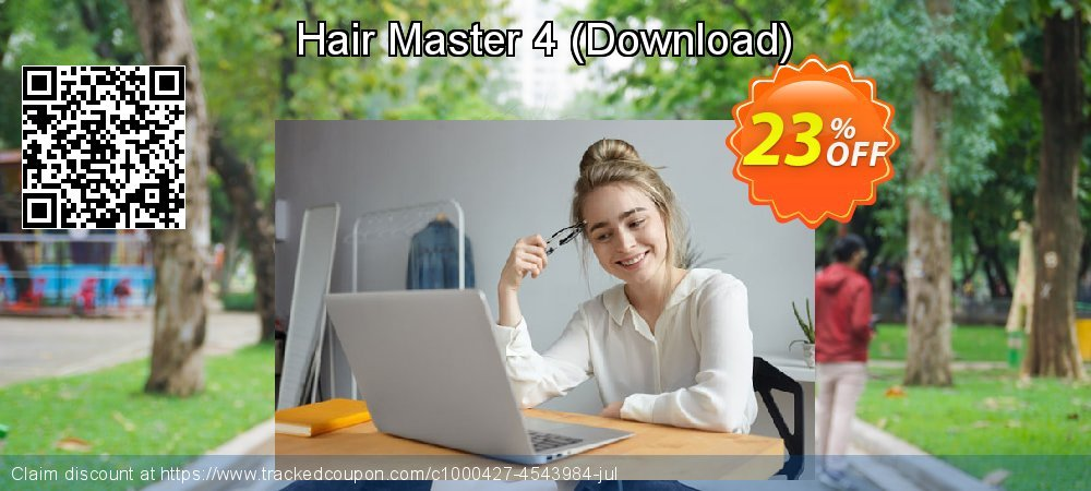 Hair Master 4 - Download  coupon on New Year offering sales