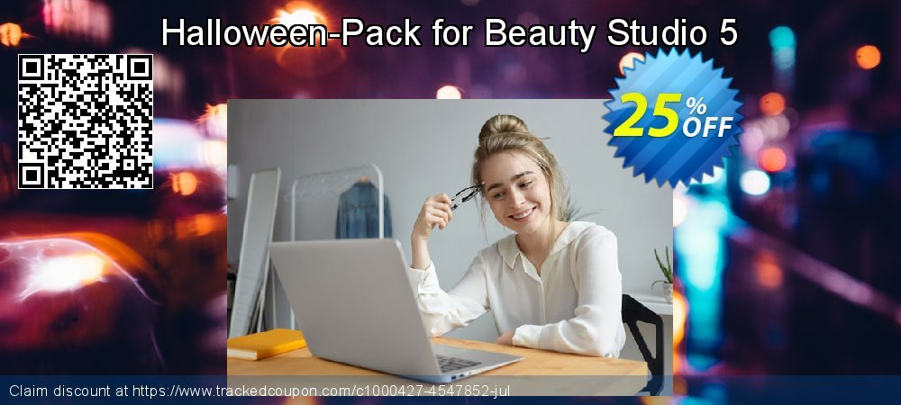 Halloween-Pack for Beauty Studio 5 coupon on New Year discount