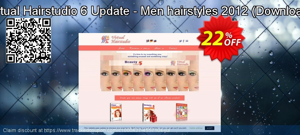 Virtual Hairstudio 6 Update - Men hairstyles 2012 - Download  coupon on New Year discount