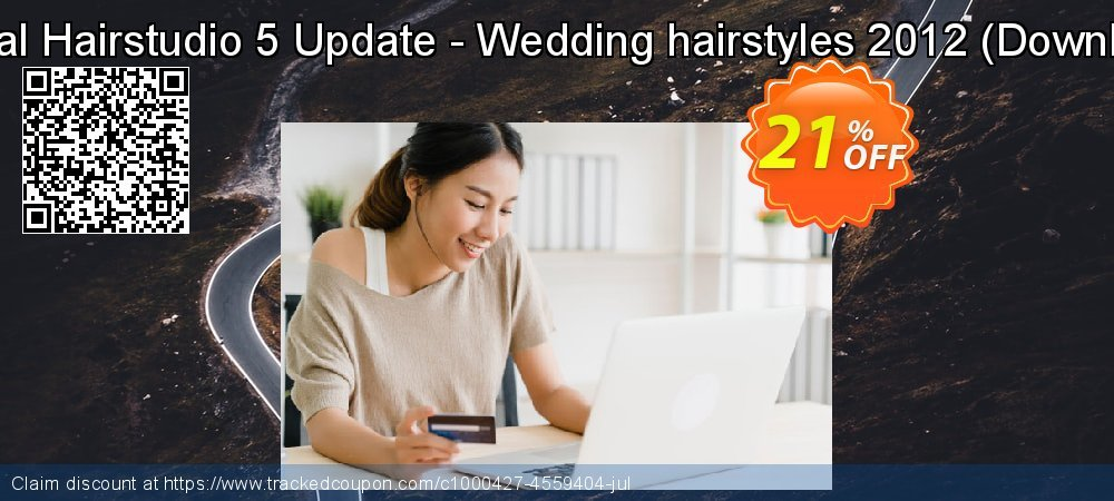 Virtual Hairstudio 5 Update - Wedding hairstyles 2012 - Download  coupon on New Year promotions