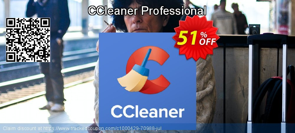 CCleaner PRO Edition coupon on Halloween offer
