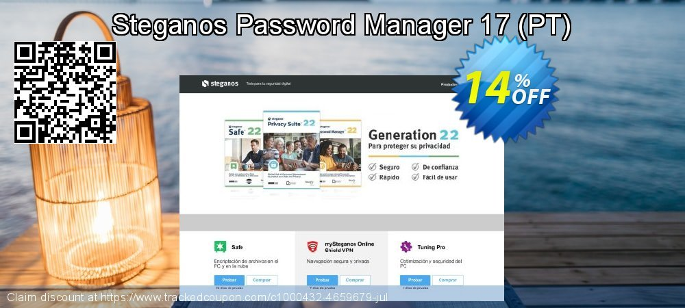 Steganos Password Manager 17 - PT  coupon on Native American Day sales