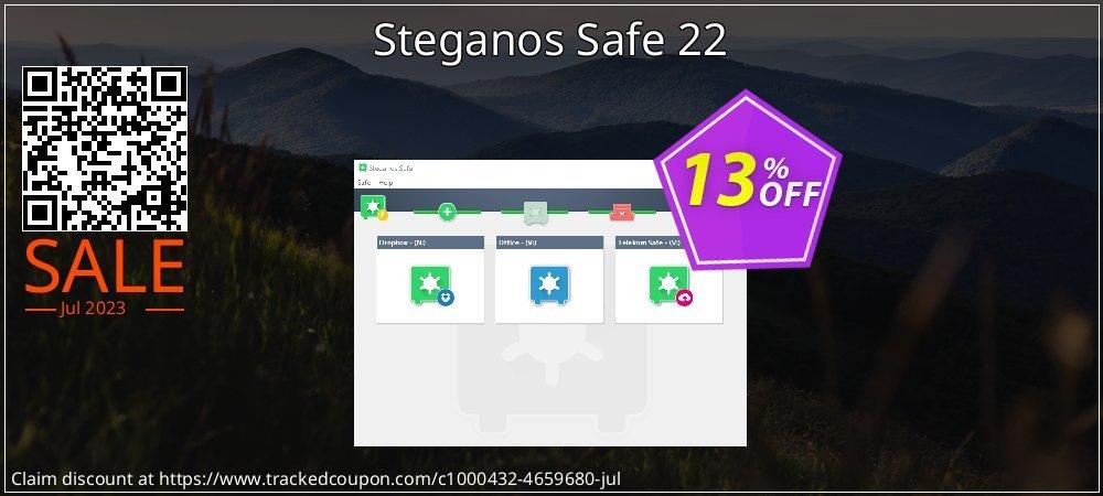 Steganos Safe 22 coupon on Back to School deals