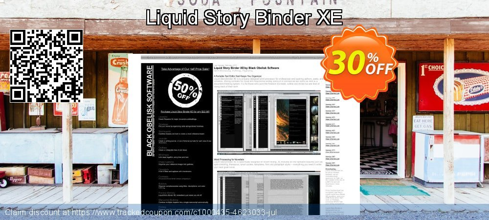Get 30% OFF Liquid Story Binder XE offering sales