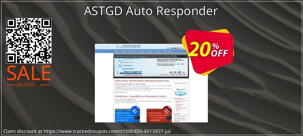 Get 20% OFF ASTGD Auto Responder offering sales