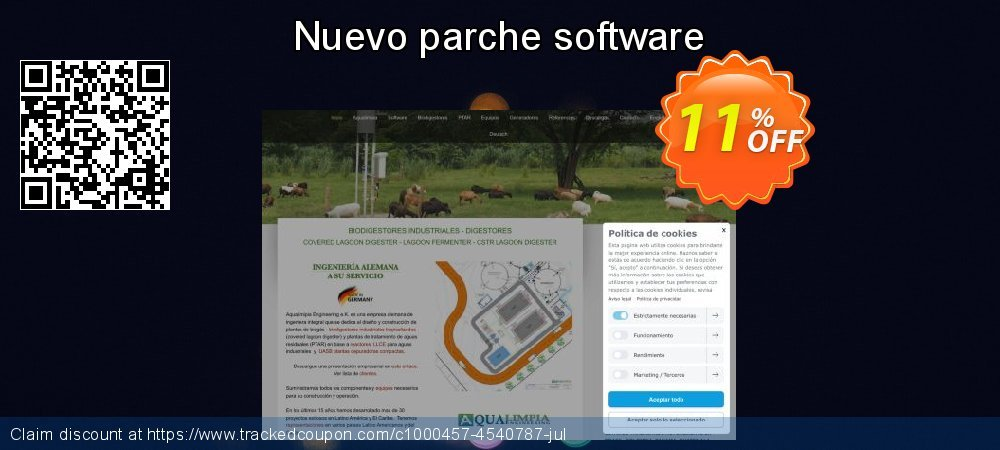 Nuevo parche software coupon on Exclusive Student discount offering discount
