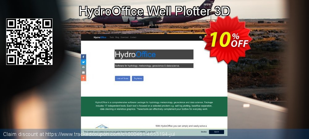 Get 10% OFF HydroOffice Well Plotter 3D offering sales