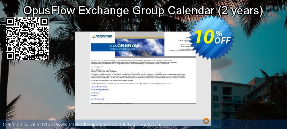 OpusFlow Exchange Group Calendar - 2 years  coupon on Lunar New Year offering sales
