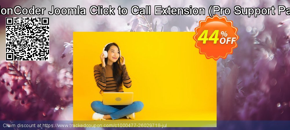 ExtensionCoder - Joomla - Click to Call Extension - Pro Lifetime Package coupon on Happy New Year promotions