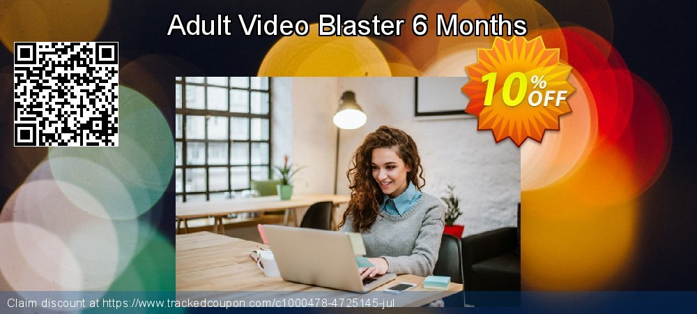 Adult Video Blaster 6 Months coupon on New Year's Day offer
