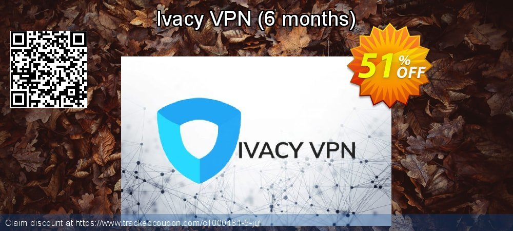 Ivacy VPN - 6 months  coupon on World Teachers' Day sales