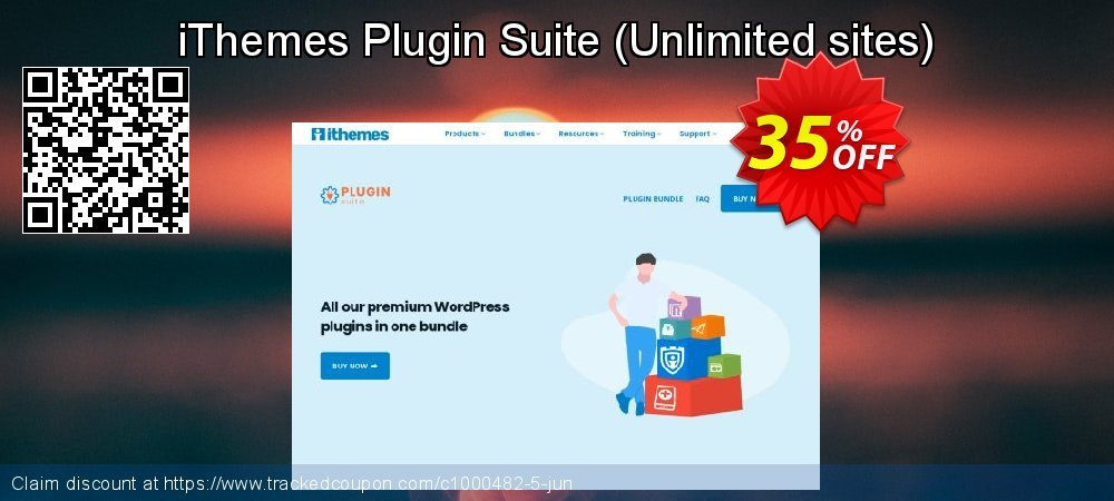 iThemes Plugin Suite - Unlimited sites  coupon on World Milk Day super sale
