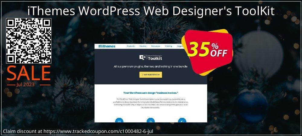 iThemes WordPress Web Designer's ToolKit coupon on Egg Day discounts