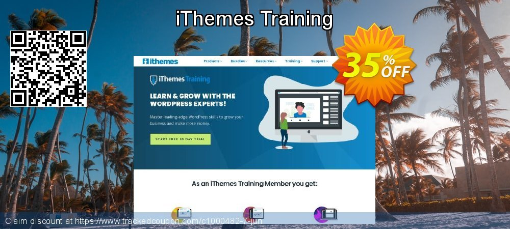 iThemes Training coupon on World Bicycle Day promotions